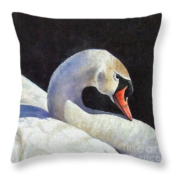 Showing Off   Sold Throw Pillow
