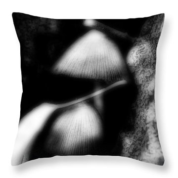 Shroom Magic Throw Pillow