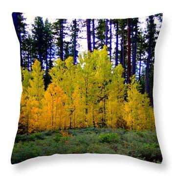 Sierra Forest Throw Pillow