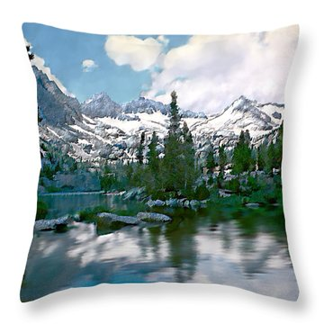 Sierra Throw Pillow by Kurt Van Wagner