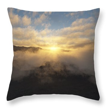 Sierra Sunrise Throw Pillow