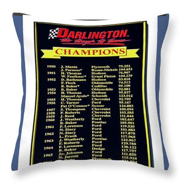 Sign Of Champions Throw Pillow by DigiArt Diaries by Vicky B Fuller