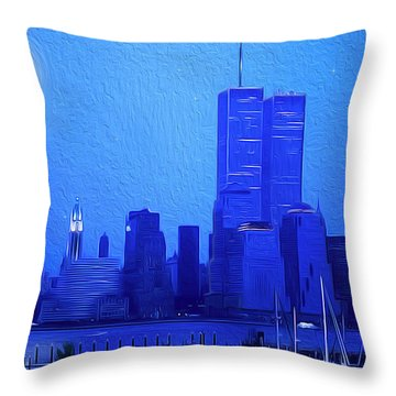 Silent Summer Throw Pillow