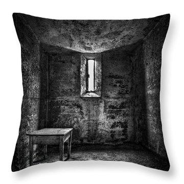 Sinner's Tale Throw Pillow by Evelina Kremsdorf