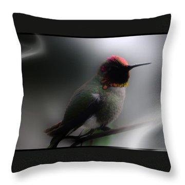 Throw Pillow featuring the digital art Sir Dancelot by Holly Ethan