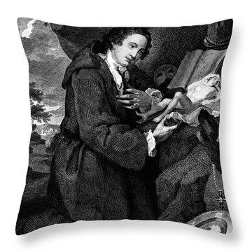 Sir Francis Dashwood Throw Pillow by Granger