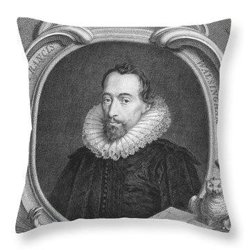 Sir Francis Walsingham Throw Pillow by Granger