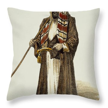 Sir Richard Francis Burton Throw Pillow by Granger