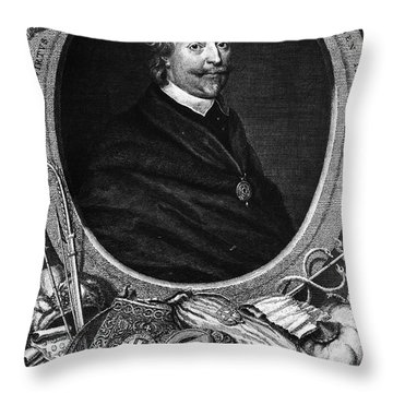 Sir Thomas Roe (c1581-1644) Throw Pillow by Granger