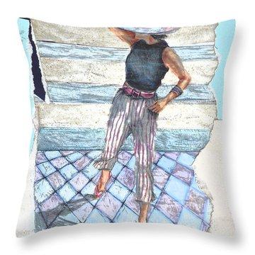 Siripparis Throw Pillow