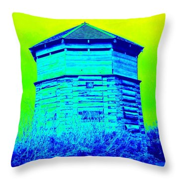 Sitka Russian Stockade Throw Pillow by Randall Weidner