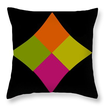 Throw Pillow featuring the photograph Six Squared At A Pinch by Steve Purnell