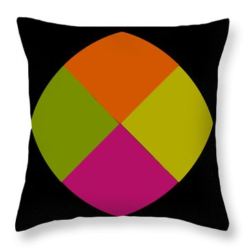 Throw Pillow featuring the photograph Six Squared Blowout by Steve Purnell