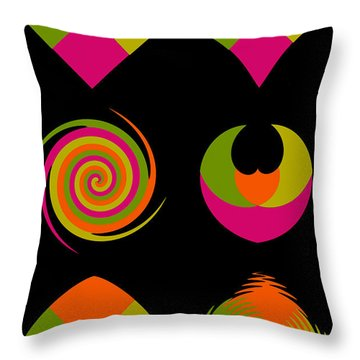 Throw Pillow featuring the photograph Six Squared Collage by Steve Purnell