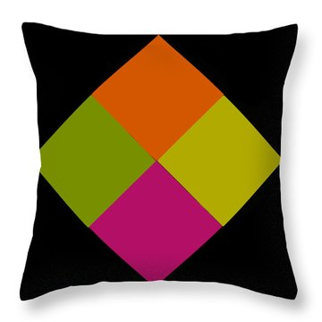 Throw Pillow featuring the photograph Six Squared by Steve Purnell