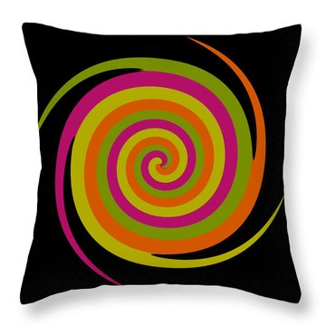 Throw Pillow featuring the photograph Six Squared With A Twirl by Steve Purnell