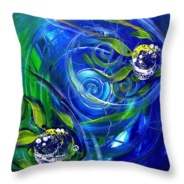 Six Subtle Ups And Downs 3 Throw Pillow