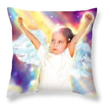 Skinner.angelic 2  Throw Pillow
