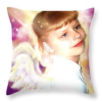 Skinner.angelic  Throw Pillow