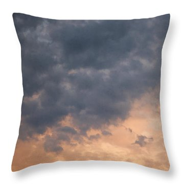 Throw Pillow featuring the photograph Sky 1 by John Crothers
