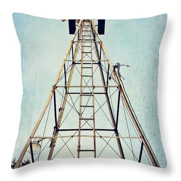 Sky High Throw Pillow by Pam  Holdsworth