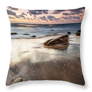 Sky In The Sands Throw Pillow by Evgeni Dinev