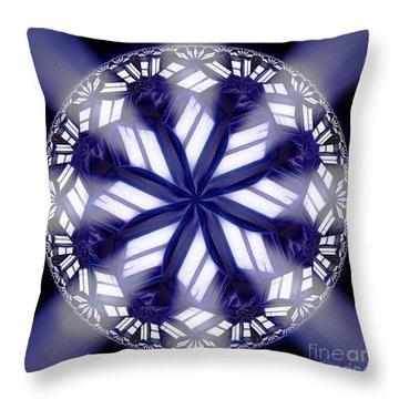 Sky Windows Throw Pillow by Danuta Bennett