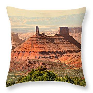 Skyward Throw Pillow by Marty Koch