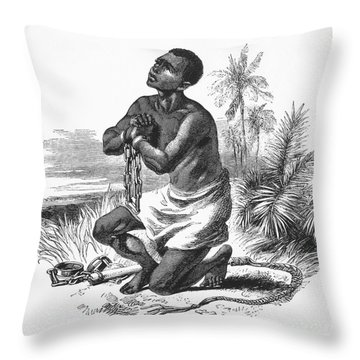Slavery: Abolition Throw Pillow by Granger