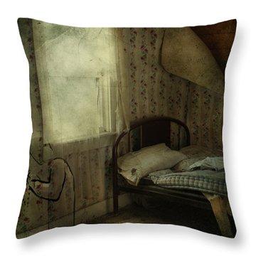 Sleepless Prayers  Throw Pillow by Jerry Cordeiro
