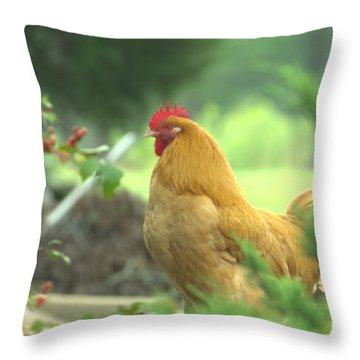 Slick 2 Throw Pillow