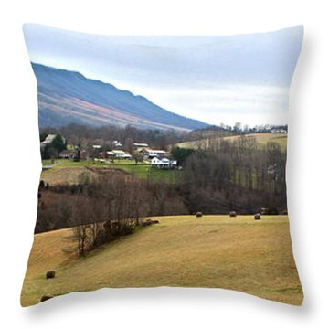 Throw Pillow featuring the photograph Small Town by Kume Bryant