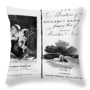 Smollett: Roderick Random Throw Pillow by Granger