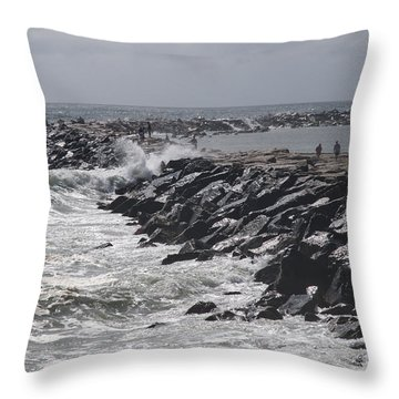 Smooth Shelter Throw Pillow