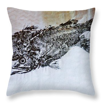Snapper Throw Pillow by William Fields