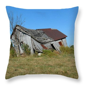 So Tired Throw Pillow by Deena Stoddard