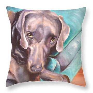 Sofa Serenade 1 Throw Pillow