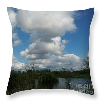 Soft And Fluffy Throw Pillow by Isabella F Abbie Shores FRSA