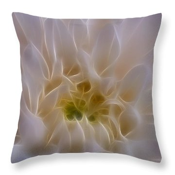 Soft Light Throw Pillow by Ivelina G