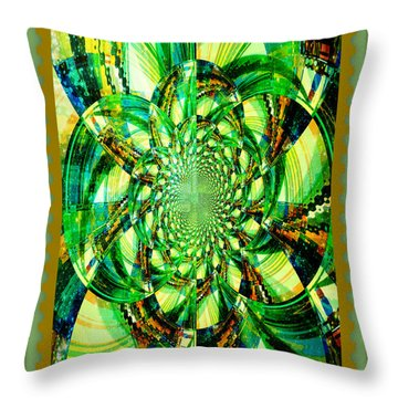 Throw Pillow featuring the photograph Solar Explosion by Donna Bentley