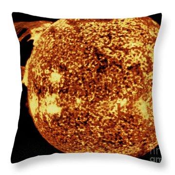 Skylab 4 Throw Pillows