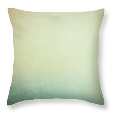 Solitary Ships Throw Pillow by Silvia Ganora