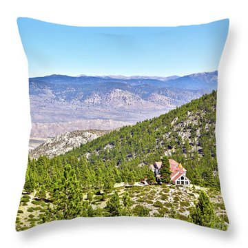 Solitude With A View - Carson City Nevada Throw Pillow