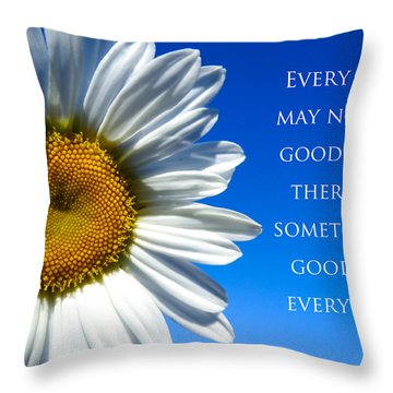 Something Good Throw Pillow