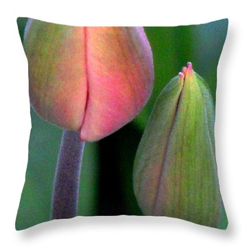 Throw Pillow featuring the photograph Something Inside by Angela Davies