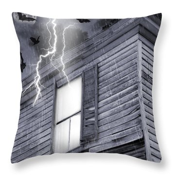 Something Wicked Throw Pillow by Brian Wallace