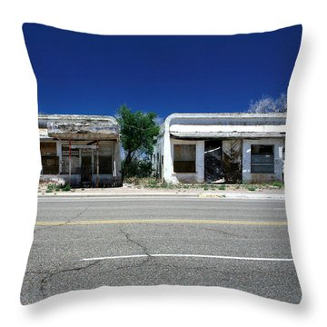 Throw Pillow featuring the photograph Somewhere On Hwy 285 Number Two by Lon Casler Bixby
