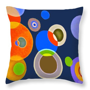 Somewhere Out There Throw Pillow by Beth Saffer