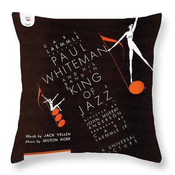 Song Of The Dawn Throw Pillow by Mel Thompson