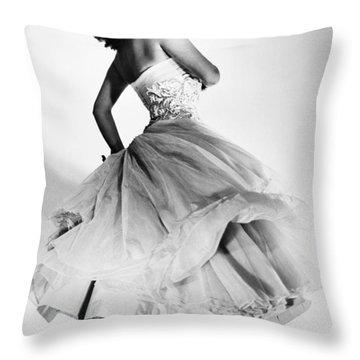 Sophia Loren (1934-  ) Throw Pillow by Granger